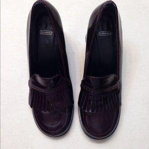 Coach Felize heeled loafer